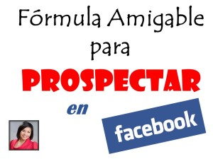 Fórmula Amigable Facebook